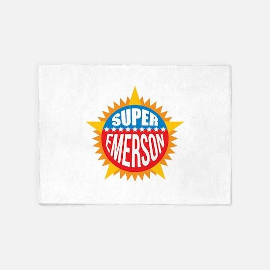Super Emerson 5'x7'Area Rug