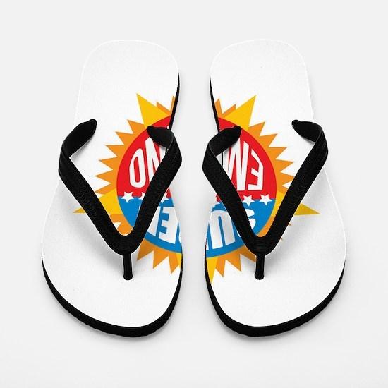 Super Emiliano Flip Flops
