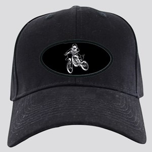 Playing in the dirt with a motorbike Black Cap