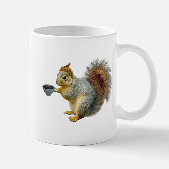 Beatnik Squirrel Mug