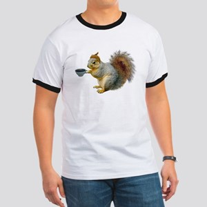 Beatnik Squirrel Ringer T