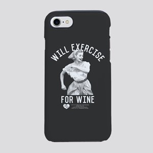Lucy Wine iPhone 7 Tough Case