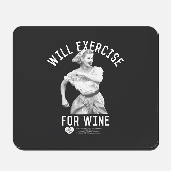 Lucy Wine Mousepad