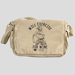 Lucy Wine Messenger Bag
