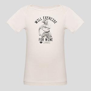 Lucy Wine Organic Baby T-Shirt