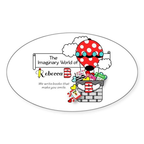 The Imaginary World of Rebecca B Sticker