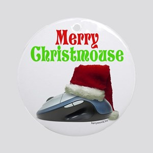 Merry Christmouse! Ornament (Round)