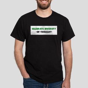 Celebrate Diversity Of THOUGHT Ash Grey T-Shirt