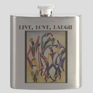 Live, Love, Laugh  Flask