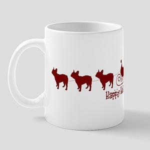 "French Bulldog ""Sleigh"" Mug"