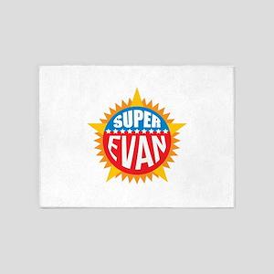 Super Evan 5'x7'Area Rug