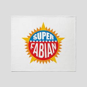 Super Fabian Throw Blanket