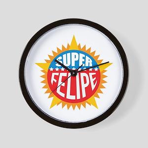 Super Felipe Wall Clock