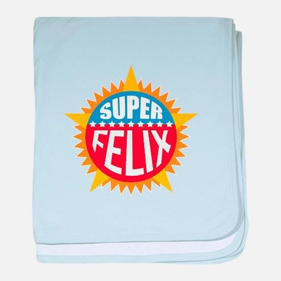 Super Felix baby blanket