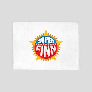 Super Finn 5'x7'Area Rug