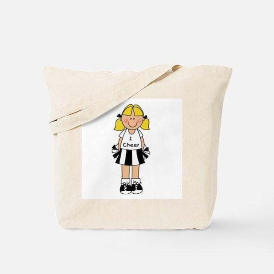 I Cheer Tote Bag