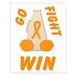 Orange GO FIGHT WIN Posters