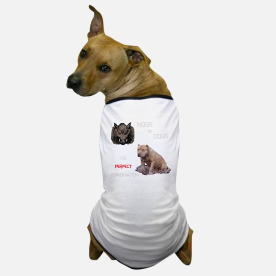 Hogs N Dogs Dog T-Shirt