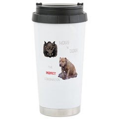 Hogs N Dogs Stainless Steel Travel Mug
