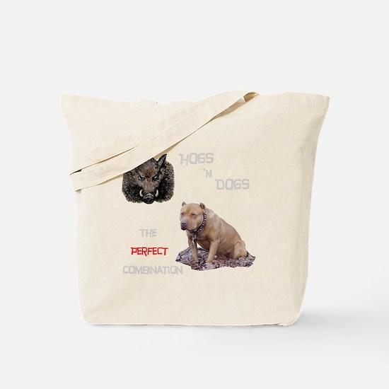 Hogs N Dogs Tote Bag