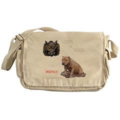Hogs N Dogs Messenger Bag
