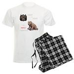 Hogs N Dogs Men's Light Pajamas