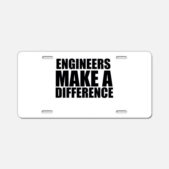 Engineers Make A Difference Aluminum License Plate