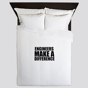 Engineers Make A Difference Queen Duvet