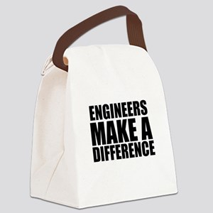 Engineers Make A Difference Canvas Lunch Bag