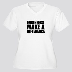 Engineers Make A Difference Plus Size T-Shirt
