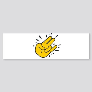 SHOCKER CARTOON Bumper Sticker