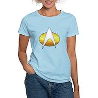 Star Trek Classic Badge Insignia Women's Light T-S
