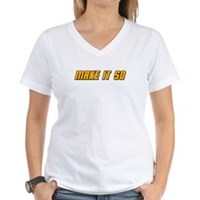 Make It So Women's V-Neck T-Shirt