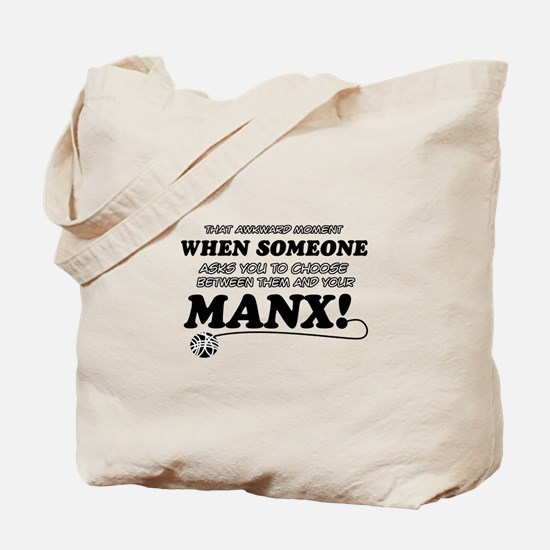 Manx breed designs Tote Bag