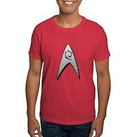 Star Trek Engineer Badge Insignia Dark T-Shirt