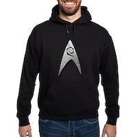 Star Trek Engineer Badge Insignia Hoodie (dark)