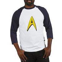 Star Trek Captain Badge Insignia Baseball Jersey