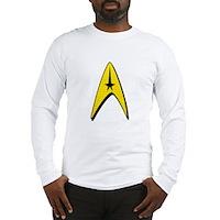 Star Trek Captain Badge Insignia Long Sleeve T-Shi