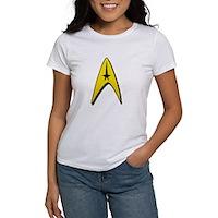 Star Trek Captain Badge Insignia Women's T-Shirt
