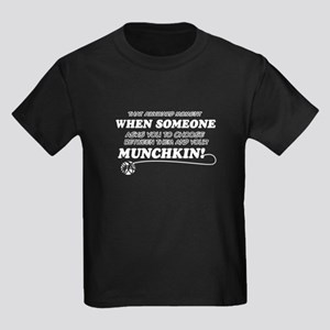 Munchkin breed designs Kids Dark T-Shirt