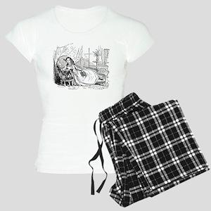 Relaxing Reader Women's Light Pajamas