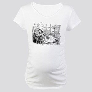 Relaxing Reader Maternity T-Shirt