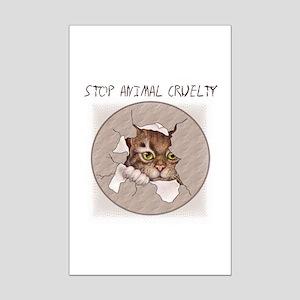 Stop Animal Cruelty 2000x2000 Posters