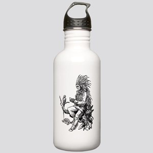 Native American Reader Stainless Water Bottle 1.0L