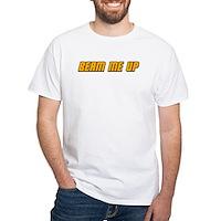 Beam Me Up White T-Shirt