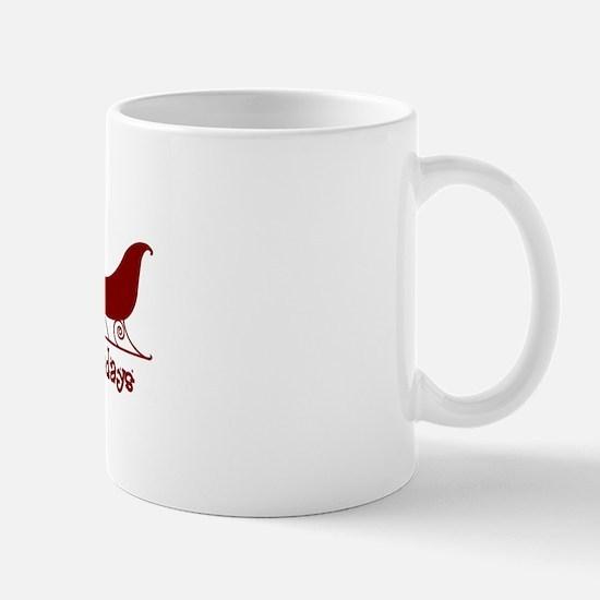 "Afghan Hound ""Sleigh"" Mug"
