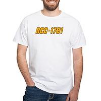 NCC-1701 White T-Shirt