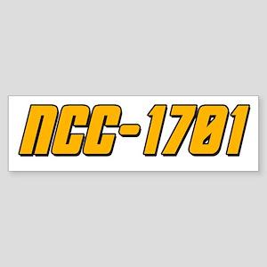 NCC-1701 Sticker (Bumper)