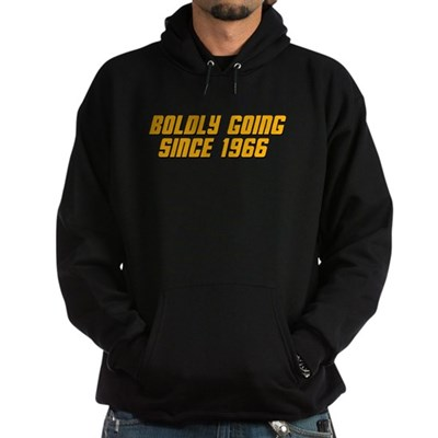 Boldly Going Since 1966 Hoodie (dark)