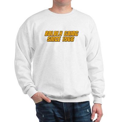 Boldly Going Since 1966 Sweatshirt